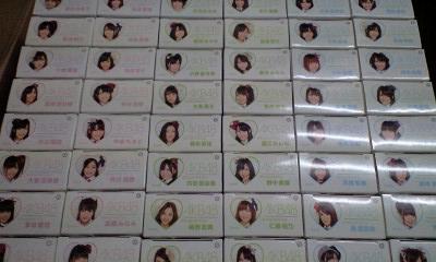 AKB48 7-11限定 ベアブリック 全48種コンプリートセット