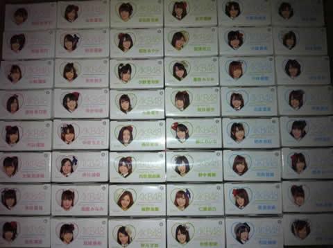 AKB48 セブンイレブン ベアブリック フルコンプ 48体セット